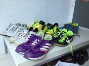 Adidas- Nike Turnschuhe Fußballschuhe Schienbeinschoner