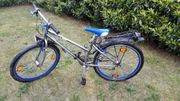 Jugend Fahrrad blau silber
