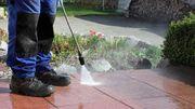 Reinigung von Flächen-Terrasen-Vorplätze-Pool Winterreinigung