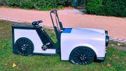 Lastenrad als Mini Trabant