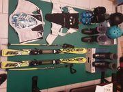2x Ski Abfahrt und div