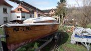 2oerjollenkreuzer segelboot Kajütboot