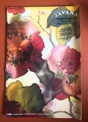 Siedenmalerei - Bücher mit Vorlagen Techniken -