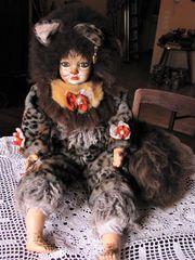 Puppe nach dem Musical Cats