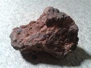 Roten Fels Stein