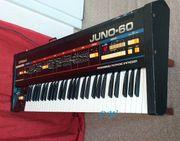 Vintage Analog Synthesizer Roland Juno-60