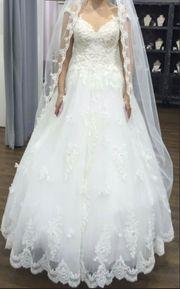 Schnäppchen Prinzessin-Brautkleid Designer Demetrios