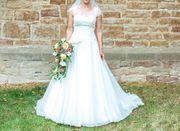 Romantisches Hochzeitskleid Gr 38 in