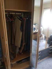 Kleiderschrank Buche 2 70m breit