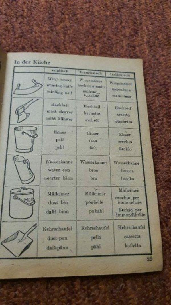 Wir geben diverse alte Bücher