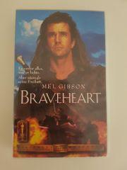 Mel Gibson - Braveheart VHS-Kassette