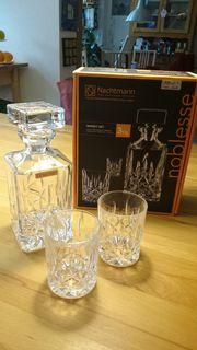 Nachtmann Whisky-Set 3 tgl Noblesse