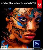 Original Adobe Photoshop CS6 Extended -