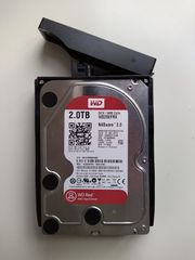Festplatte WD Red 2TB