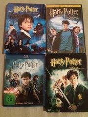 DVD Blu Ray Harry Potter