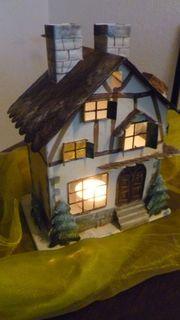 Winterhaus aus Blech