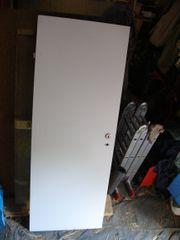 Holztüre weiß mit rechtem Anschlag