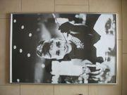 Gerahmtes großes Bild Poster Audrey