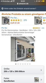 Balkonmarkise