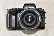 Nikon F90X mit Sigma 28-105mm