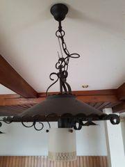 5 Deckenlampen Deckenleuchten Metall Schmiedeeisen