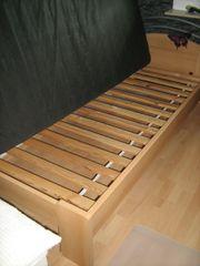Bett 1 x 2m komplett
