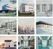 Architektur Visualisierung 3D Rendering
