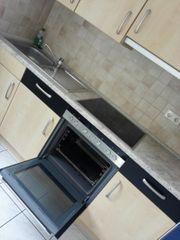 Küche mit Siemens Backofen ab