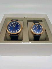 Fossil Uhren Partnerset Geschenkset Neu