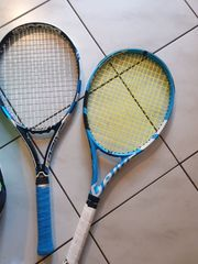 2 Tennisschläger Babolat und Tasche