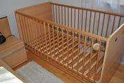 Babybett mit Matratze 70x140 cm