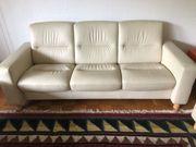 3Sitzer-Leder-Couch