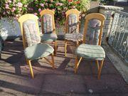 6 Stühle 3 Wirtshaus Stühle