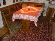 Sitzbank-Essecke mit Tisch Sitzbank und
