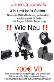 Jane Crosswalk Kinderwagen 3 in
