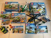 3x LEGO CITY 60067 60101