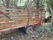 Ladewagen traktor Anhänger