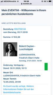 2x Bülent Ceylan Tickets
