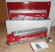 LGB 29570 Zugset Coca-Cola F7A