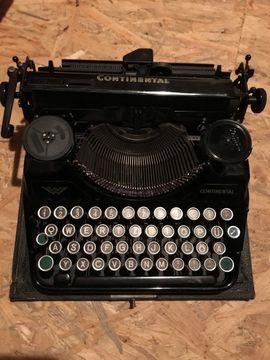 Sonstige Sammlungen - Continental Schreibmaschine