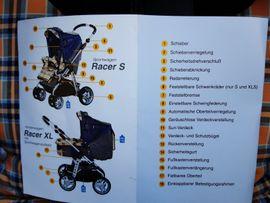 Kinderwagen - Kinderwagen Hartan Racer XL