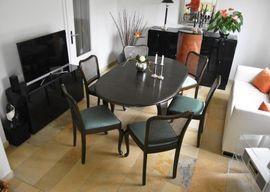 Chippendale Essgruppe mit 8 Stühlen: Kleinanzeigen aus Beckum - Rubrik Speisezimmer, Essecken