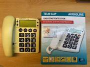 Großtastentelefon Audioline TEL49 CLIP neu
