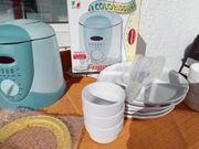 Fondue-Set Fritteuse mit Zubehör