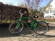 Fahrrad Cruiser 2Fast4you Grün City