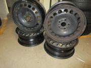 4 Originale VW Stahlfelgen 6