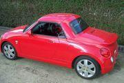 Daihatsu Copen - Sondermodell VIVID rot