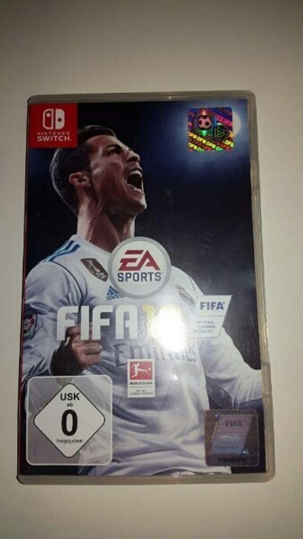 FIFA 18 Spiel für Nintendo