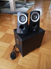 Soundsystem Logitech 2 1
