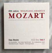 Klassik Mozart - Werke auf 5CDs